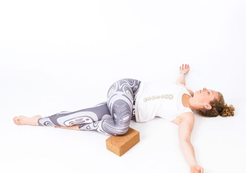 Supta Matsyendrasana – or – Supine Spinal Twist