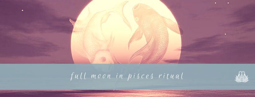 Full Moon in Pisces Crystal Ritual