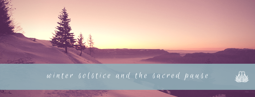 The Cosmic Gift of a Sacred Pause