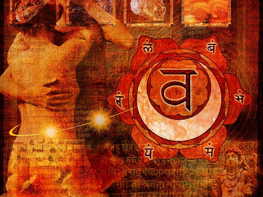 Pleasure is in your Sacral Chakra