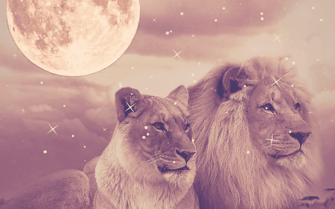 Full Moon Lunar Eclipse Leo